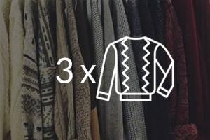 Tintorería - Pack 3 Jerseys