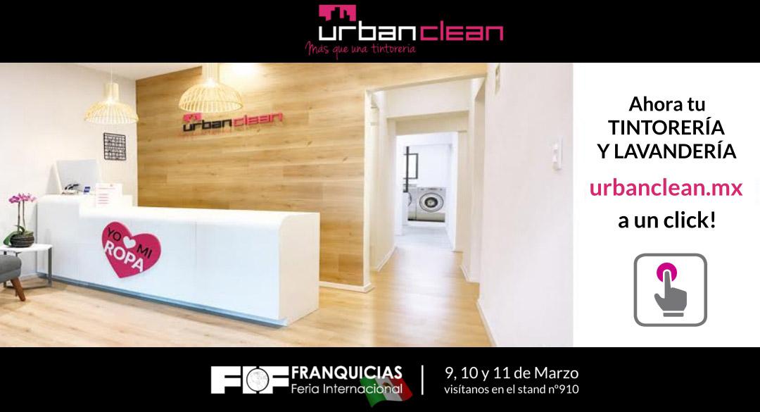 Feria Internacional de Franquicias de México 2017 - UrbanClean