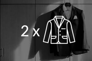 Tintorería - Pack 2 chaquetas