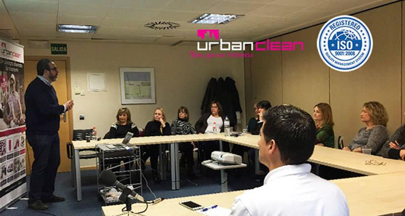 UrbanClean Curso certificación ISO