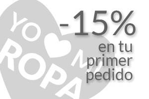 Promo cupón descuento 15%
