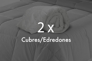 Pack 2 Cubres / Edredones