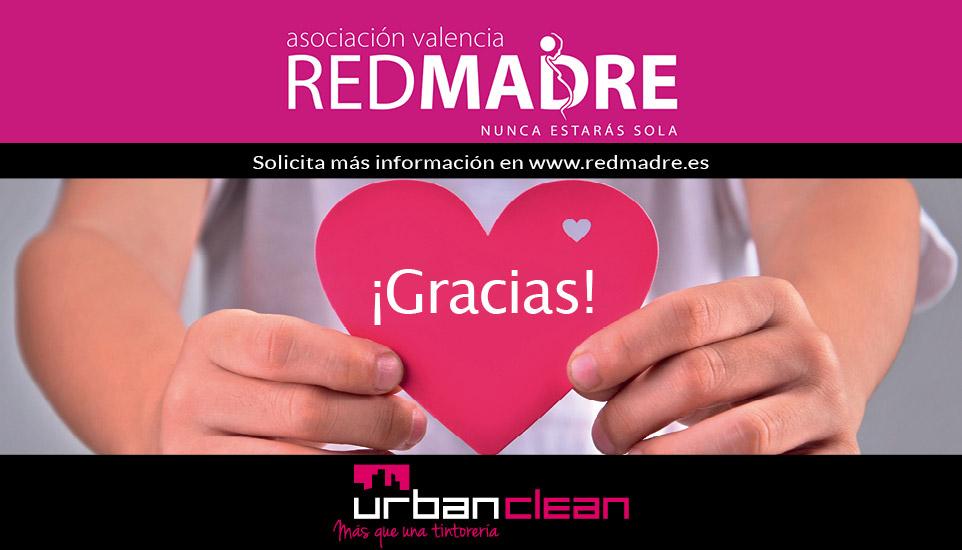 UrbanClean colabora con REDMADRE