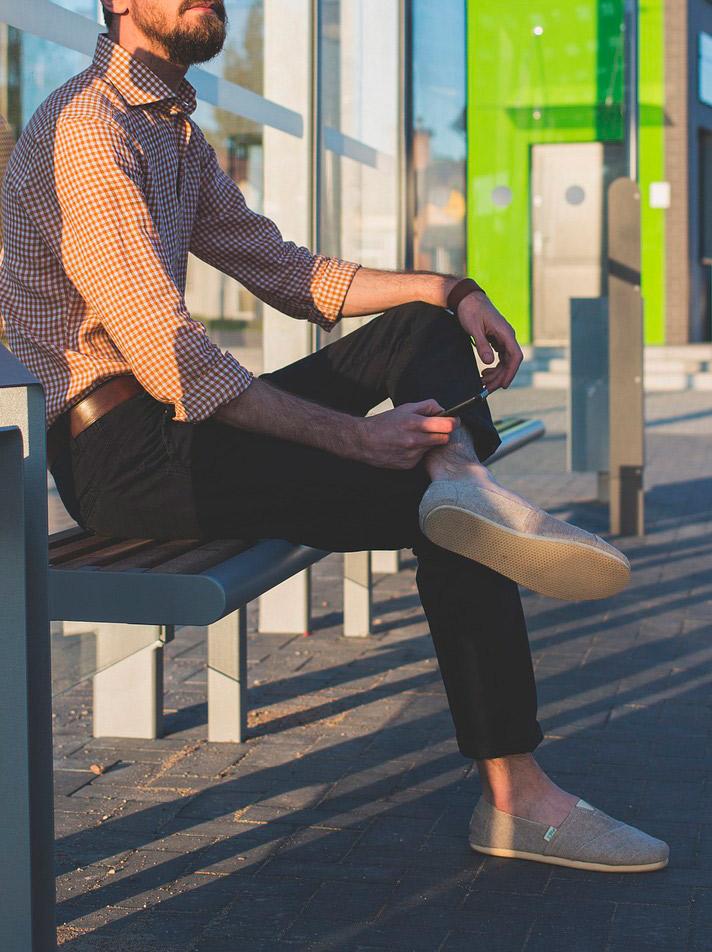 Pantalones-tobilleros