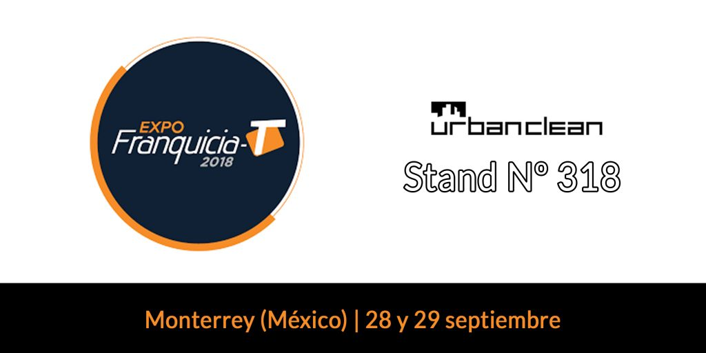 UrbanClean, un negocio rentable en Expofranquicia-t