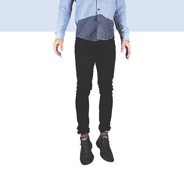 Vestir para fiestas de empresa, pantalones tobilleros