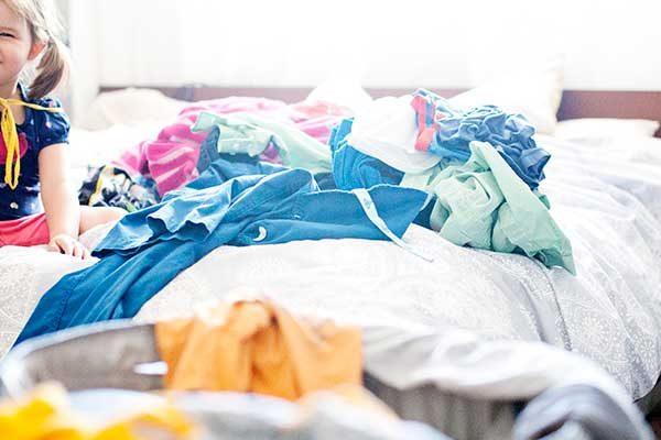 Lavar ropa en casa