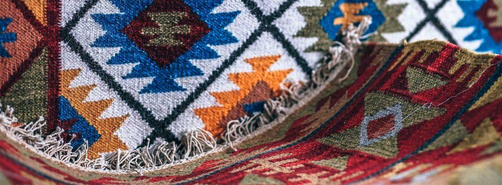guardar las alfombras
