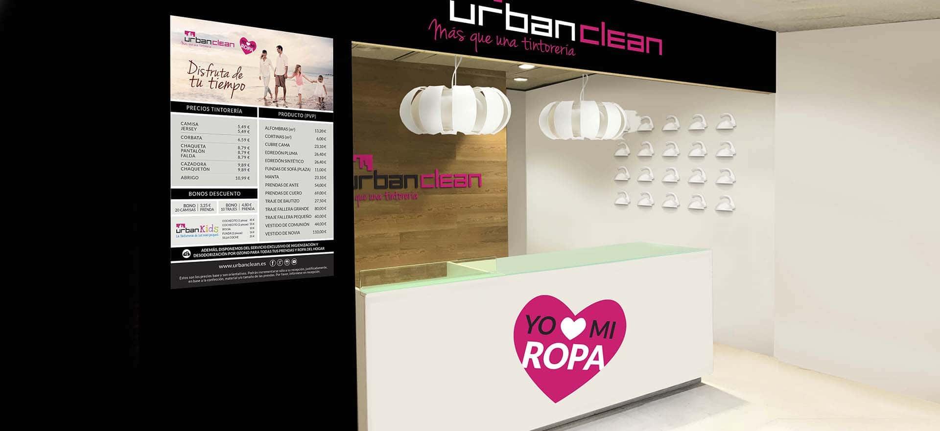 UrbanClean, imagen de marca evolución