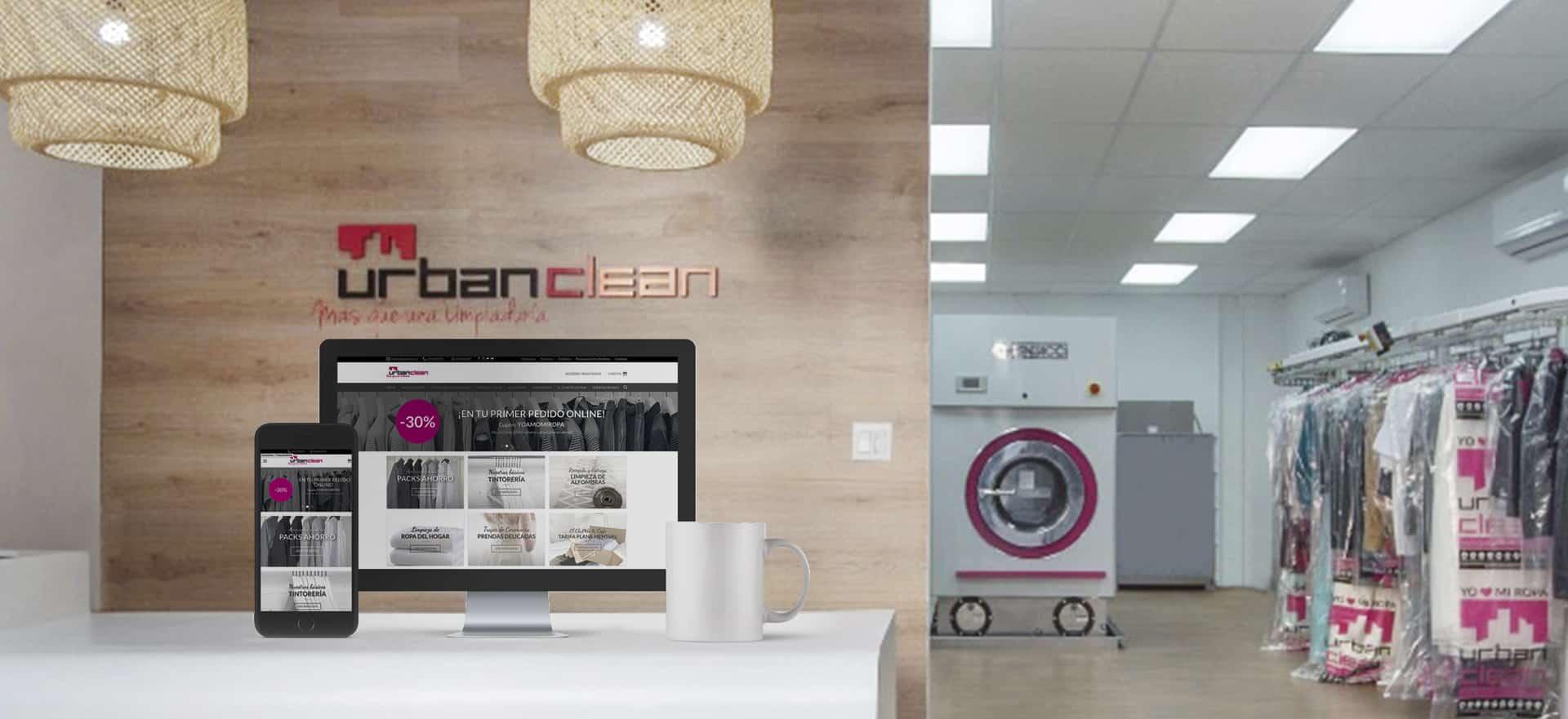 UrbanClean, la franquicia con un negocio tradicional y con negocio online